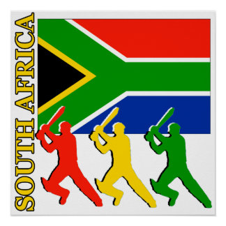 Cricket South Africa Poster