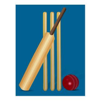Cricket Sport Postcard