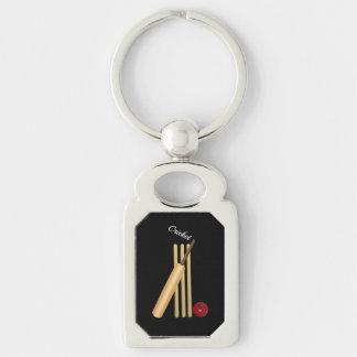 Cricket - Wicket, Bat and Ball Keychain