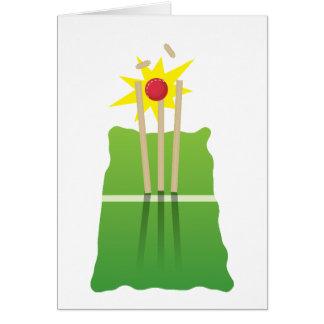Cricket win! card
