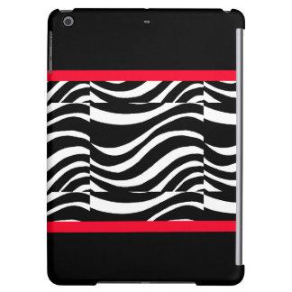 CricketDiane iPad Case Black White Colorblock 3
