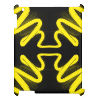 CricketDiane iPad Case Neon Yellow Black Popart