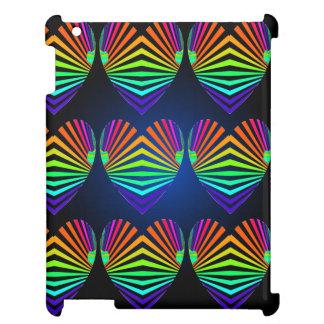 CricketDiane iPad Case Spectrum PopArt Hearts Fun