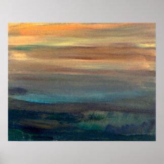 CricketDiane Ocean Poster - Sleepy Harbor