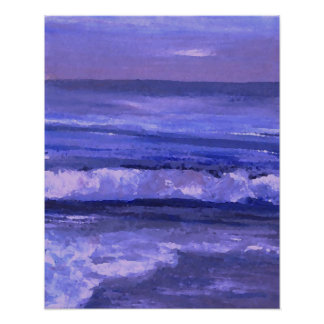 CricketDiane Ocean Poster - Tranquility 2 Seascape