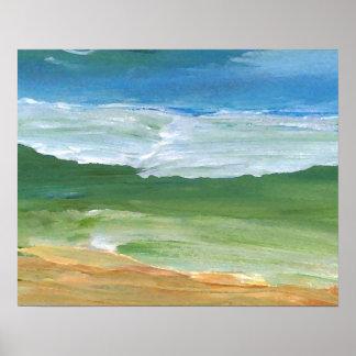CricketDiane Ocean Poster Where Land Meets Sea