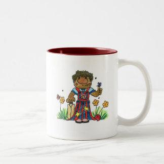 Cricketer Two-Tone Mug
