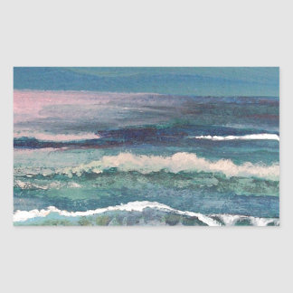 Cricket's Ocean - Beach Seascape Sticker