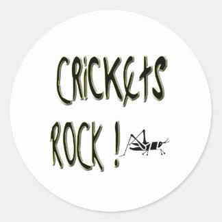 Crickets Rock! Sticker