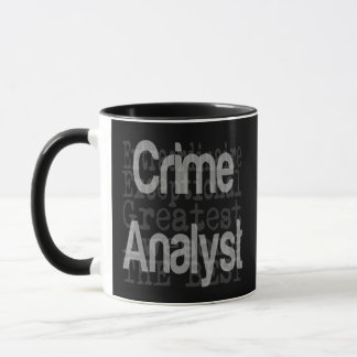 Crime Analyst Extraordinaire Mug