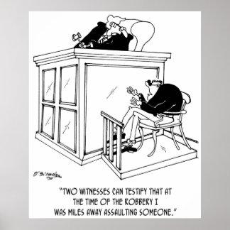 Crime Cartoon 5495 Poster