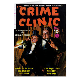 Crime Clinic #11 - Killer Dummy Card