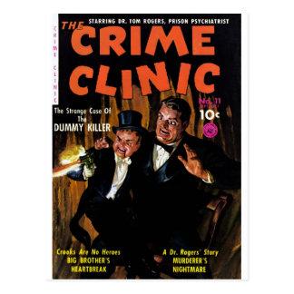 Crime Clinic #11 - Killer Dummy Postcard