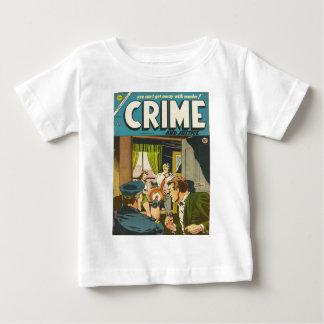 Crime et justice 1 t-shirt pour bébé