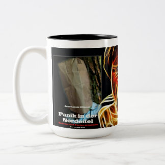 CRIME - German author Jean Louis Glineur Two-Tone Coffee Mug