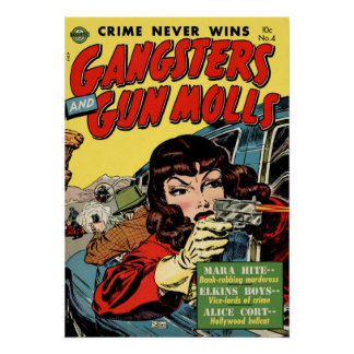 Crime Never Wins Poster