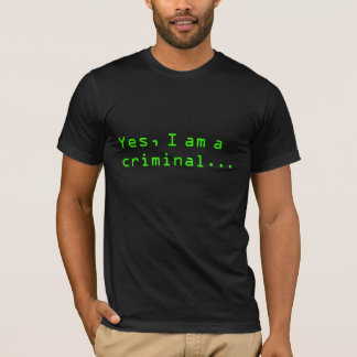 Crime of curiosity T-Shirt