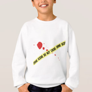 Crime Scene Do Not Cross Sweatshirt
