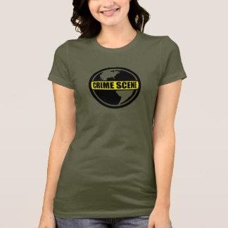 Crime Scene Earth T-Shirt
