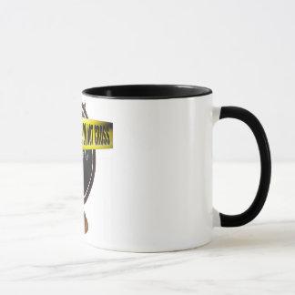 """""""Crime Scene"""" Eco-Art Coffee Mug"""