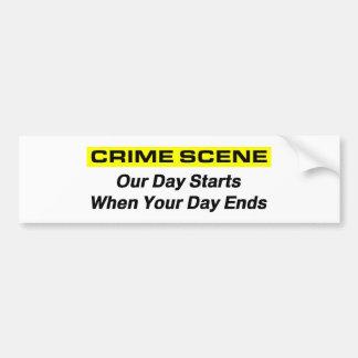 Crime Scene Investigator Bumper Stickers