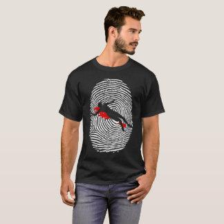 Crime Scene Investigator Fingerprint T-Shirt