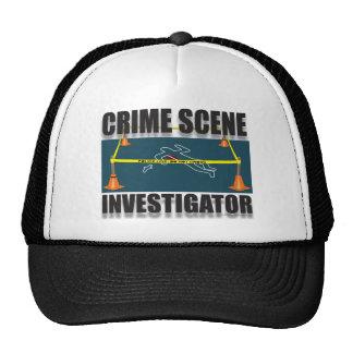 CRIME SCENE INVESTIGATOR HATS