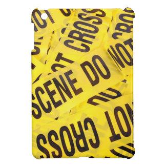 Crime scene iPad mini cover