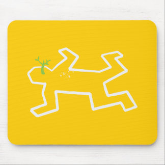Crime Scene Mouse Pad