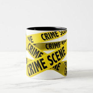 """""""Crime Scene"""" MUG"""