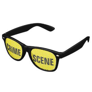 Crime scene party sunglasses