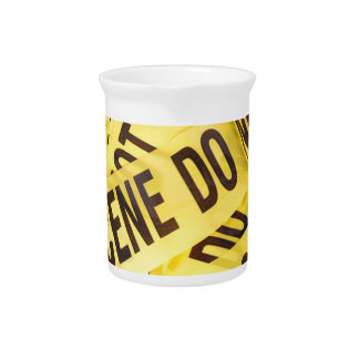 Crime scene pitcher