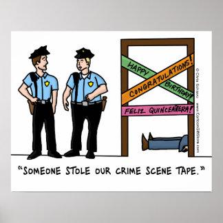 Crime Scene Poster
