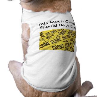 Crime Scene XS-3XL Pet Clothes