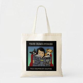 Crime Stories Budget Tote Bag