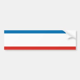 Crimea Flag Bumper Sticker