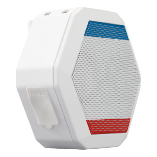 Crimea Flag White Bluetooth Speaker