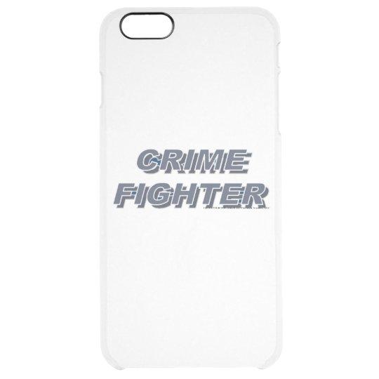 Crimefighter - Platinum Studios Clear iPhone 6 Plus Case