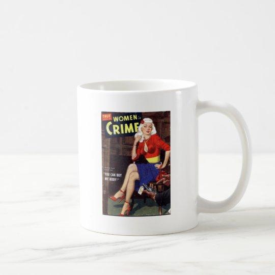Criminal Blonde Coffee Mug