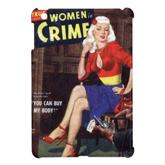 Criminal Blonde iPad Mini Case