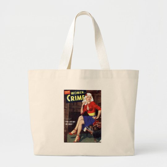 Criminal Blonde Large Tote Bag