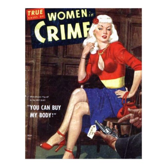Criminal Blonde Letterhead