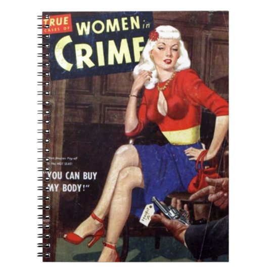 Criminal Blonde Notebook