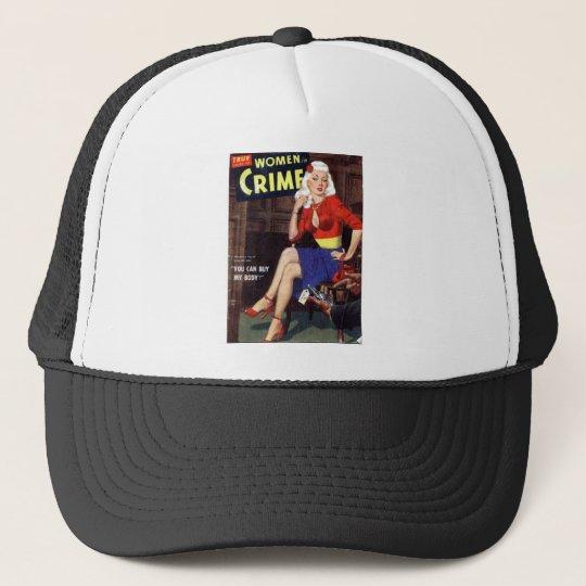 Criminal Blonde Trucker Hat
