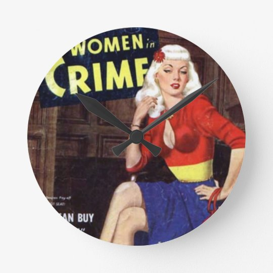 Criminal Blonde Wallclock
