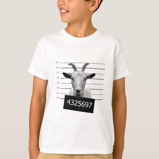 Criminal goat T-Shirt