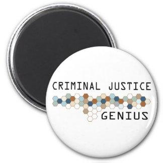 Criminal Justice Genius Magnet