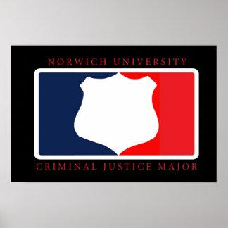 Criminal Justice Major Poster