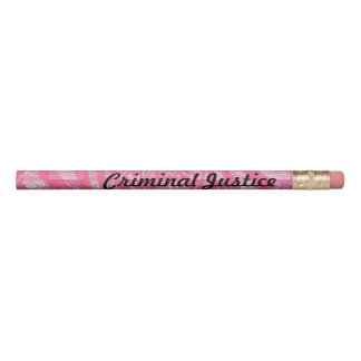 Criminal Justice Pencil
