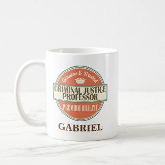 Criminal Justice Professor Mug Gift